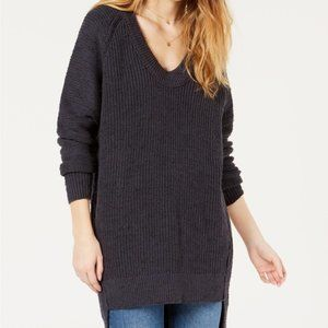 Free People Sunday Scoop Oversized Tuniс Sweater